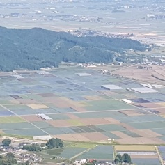Beautiful patchwork of fields