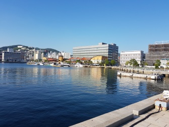 Dejima waterfront