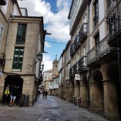 The tiny cobblestone streets