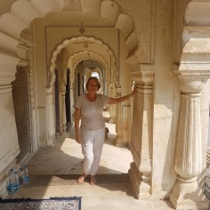 Corridor of tombs