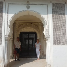 Entrance to one of the tombs