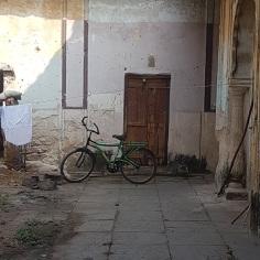 Next to living quarters