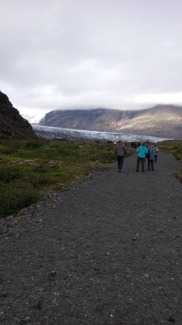 A long walk ahead