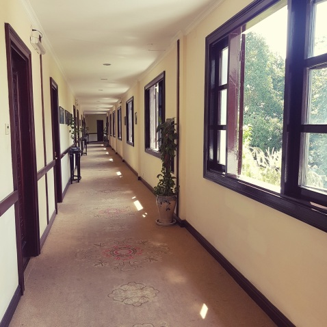 corridor to our room