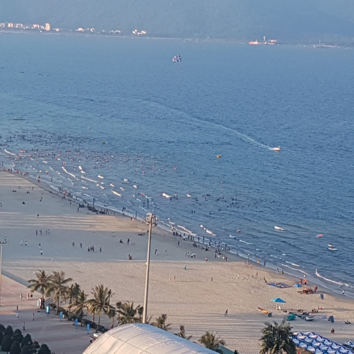 Da Nang beach front