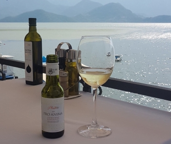 Any chance to drink the delicious Montenegren wine