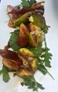 Fig Rocket and Pancetta Salad