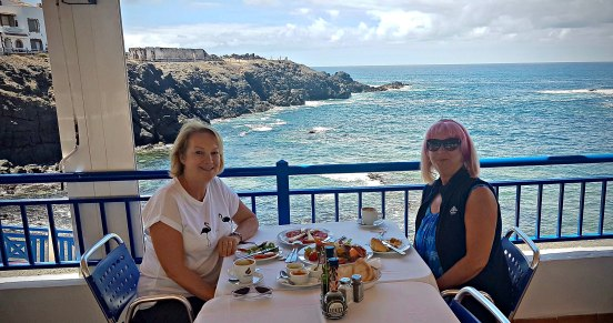 Lunch at El Mirador