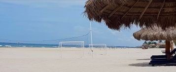 Volley Ball court - too energetic for me