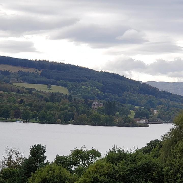 Beautiful views over Loch Lomond