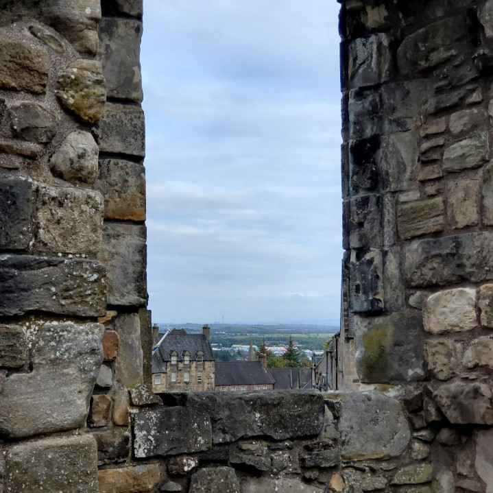 Views from the battlements