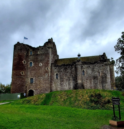 The magnificent Doune Castle
