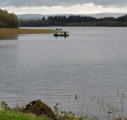 Fishing on the Lake of Monteith