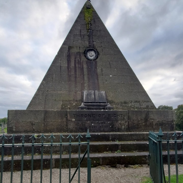The Star Pyramid commemorates all who were martyred while seeking religious freedom.