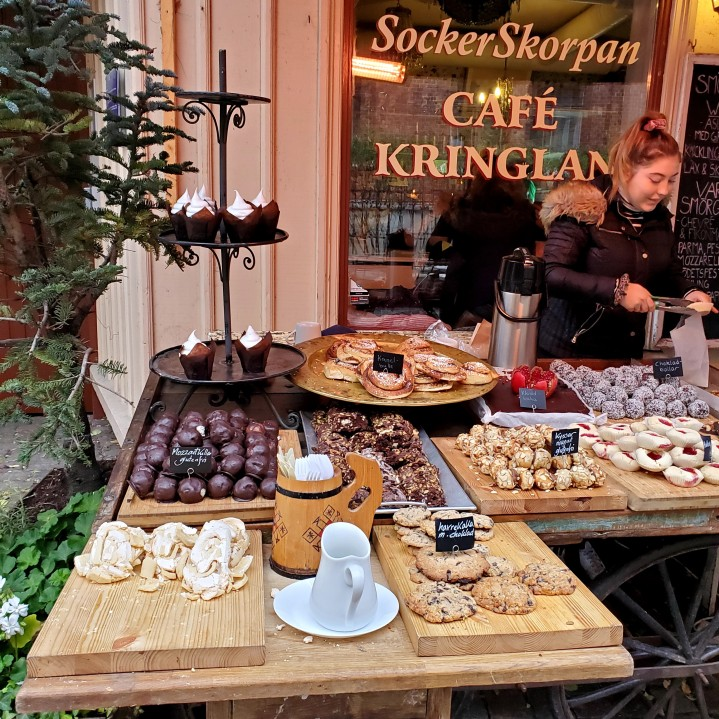 One of the many bakeries found in Gothenburg