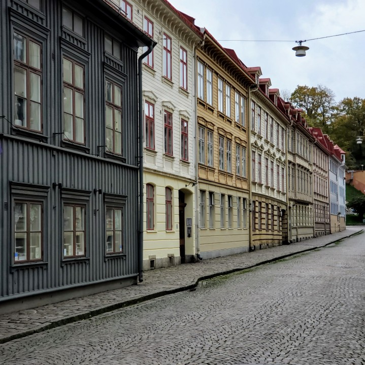 Renovated 19th century houses