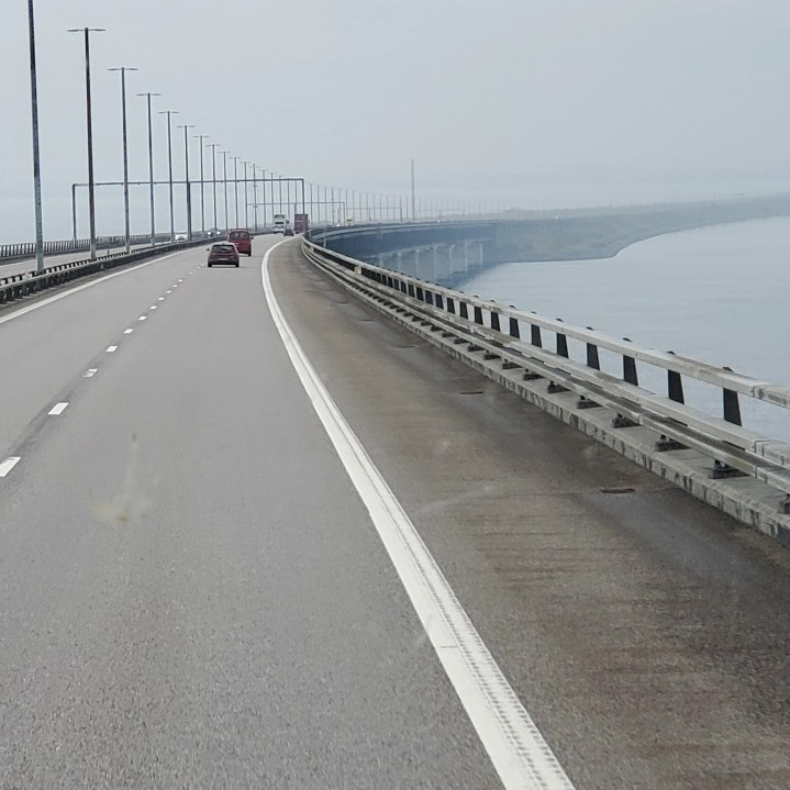 Crossing over to the Danish Side