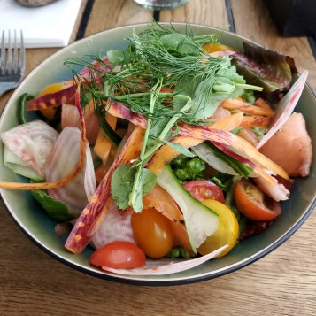 Colourful Smoked Salmon Salad