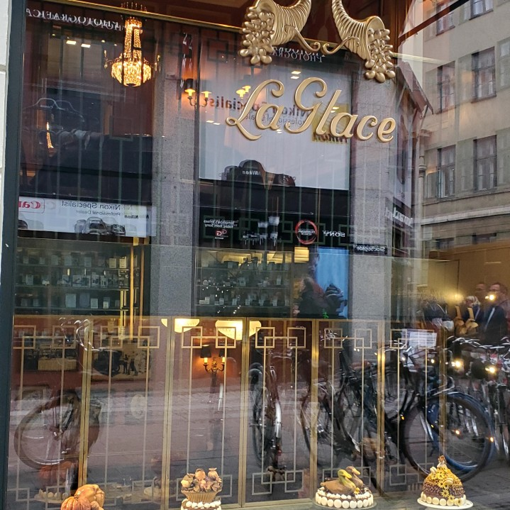 La Glace, the oldest confectionary shop in Denmark, founded on 8th October 1870