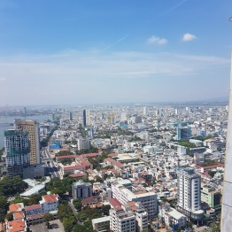 The sprawling metropolis of Da Nang City