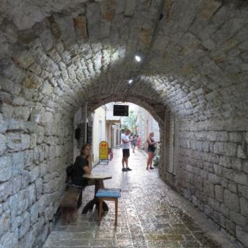 Stone alleyway