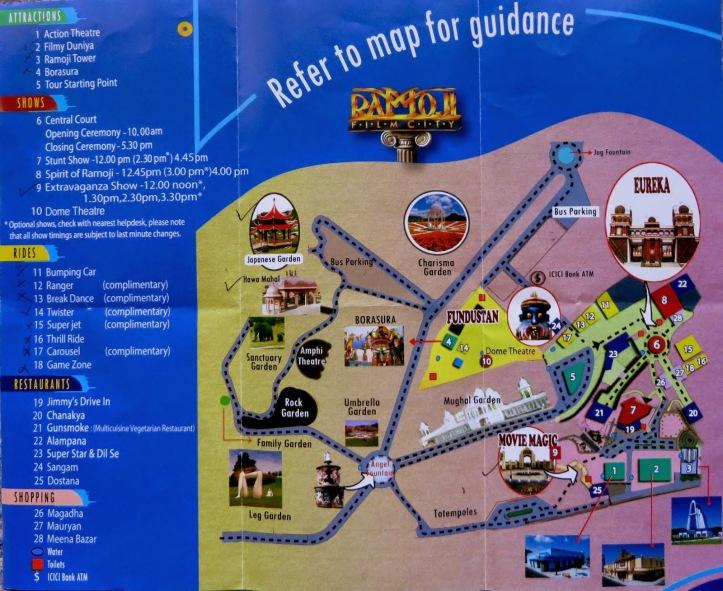 Ramoji Map