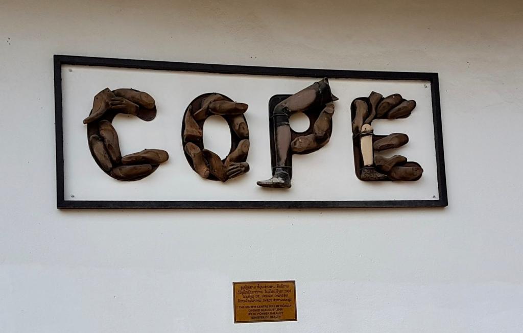 COPE museum Vientiane, Laos