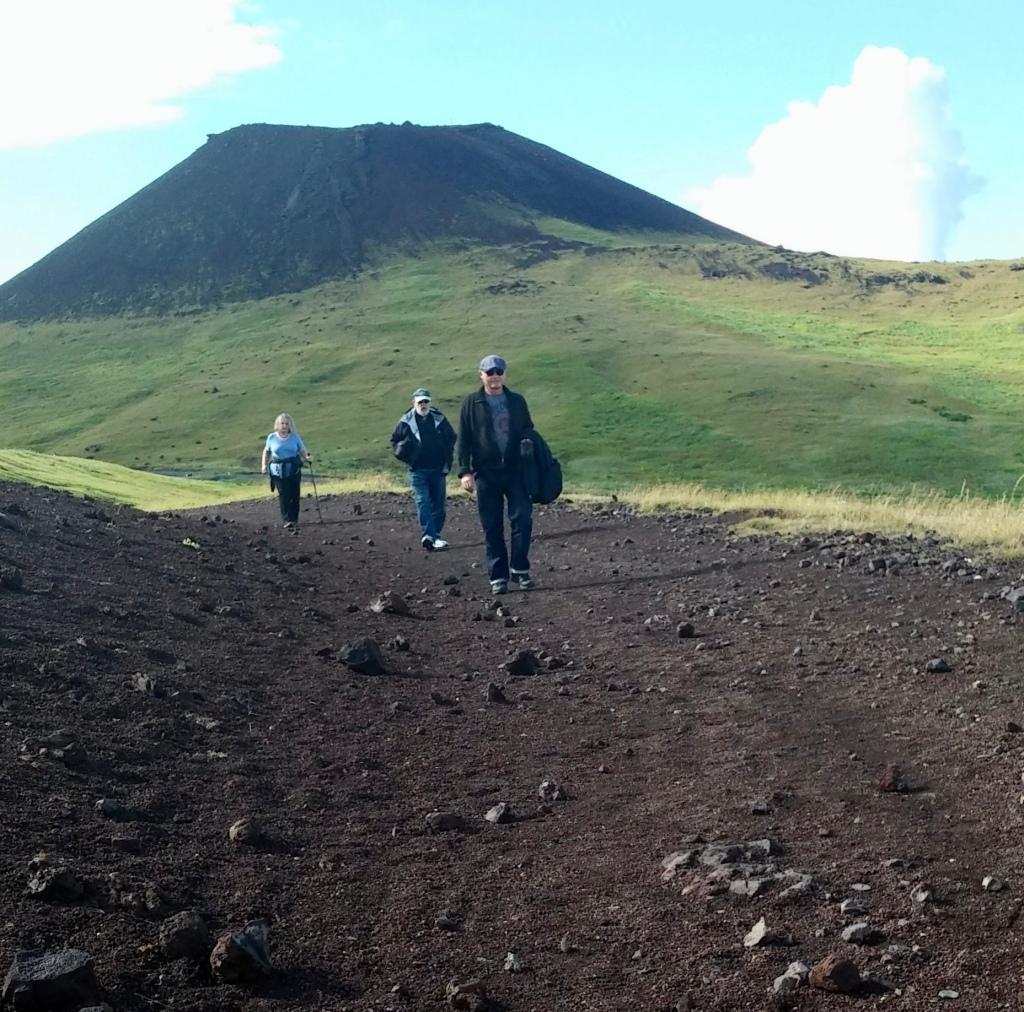 Eldfel Volcano