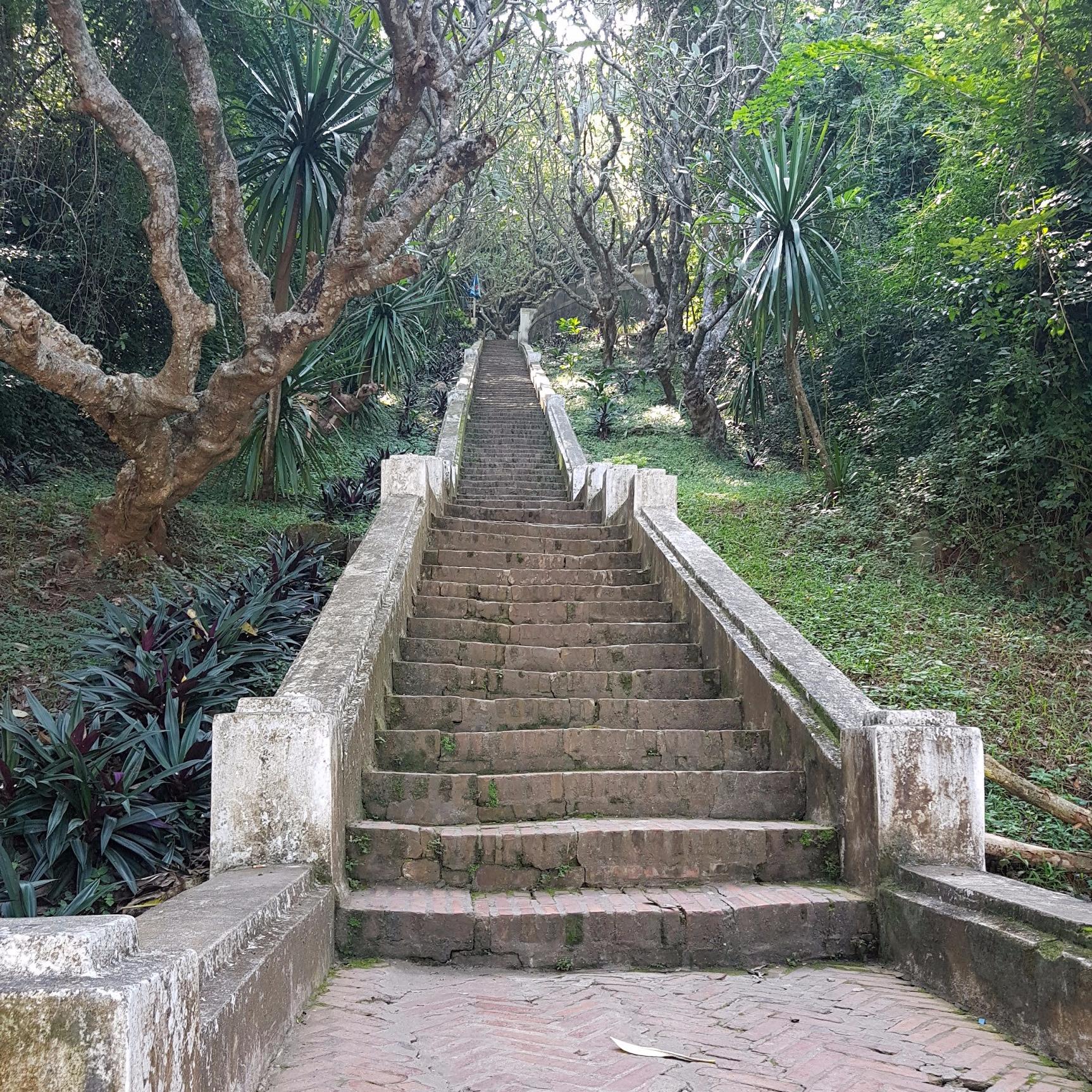 Phousi Hill, Luang Prabang
